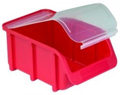 Slika za storage bin, pp, size 2/l, red