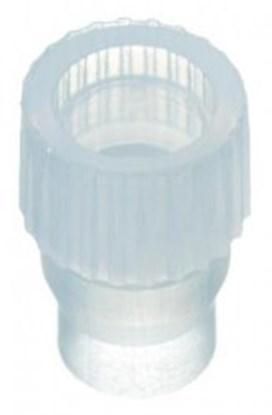 Slika za čepovi utisni za shell viale 1ml pe bijeli nd8 pk/100
