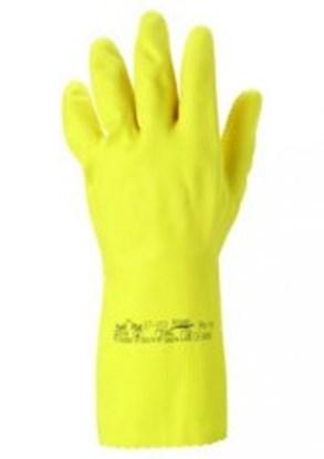 Slika za rukavice za kemijsku zaštitu 6 1/2-7 vel žute 300mm preofil plus 1par