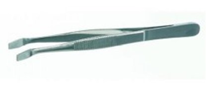 Slika za Cover glass forceps, stainless 18/10 steel