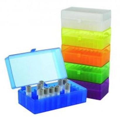 Slika za kutija za mikroepruvete 1,5/2,0ml pp 100-mjesta autoklavirajuća bijela