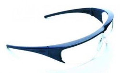 Slika za naočale zaštitne leće bistre/okvir plavi