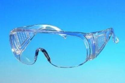 Slika za naočale zaštitne leće pp zelene/okvir pp zeleni