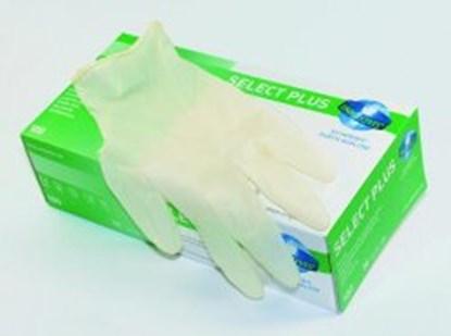 Slika za rukavice lateks bez pudera s 6-7 vel bijele pk/100 unigloves