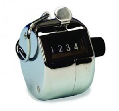 Slika za brojač kolonija tally ručni 4-mjesta fi46mmx41mm s prstenom za brojanje 1-9999