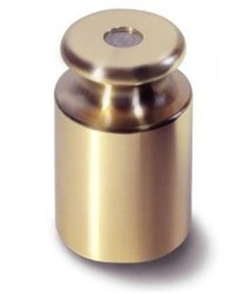 Slika za uteg kalibracijski  m1,brass, 100 g