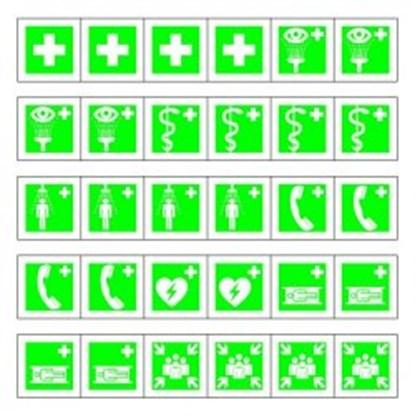 "Slika za minisymbol collecting sheet ""first aid"""