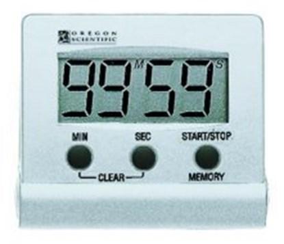 Slika za tajmer/mikrokronometar tr 112os digitalni bijeli + baterije