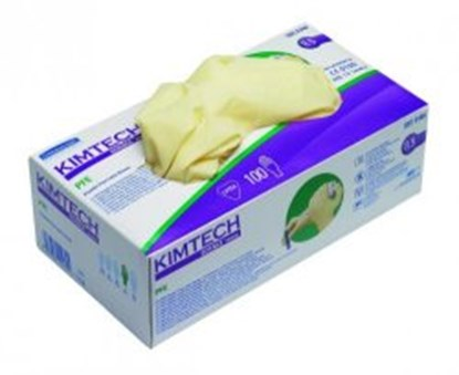 Slika za rukavice lateks bez pudera m 7-8 vel kimtech science* pfe pk/100
