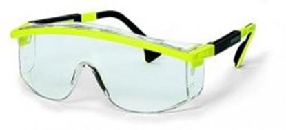 Slika za naočale zaštitne leće pc bistre/okvir crno-žuti podesiv