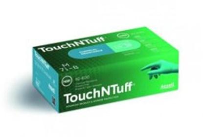 Slika za rukavice nitril bez pudera m 7-8 vel zelene 240mm touch-n-tuff pk/100