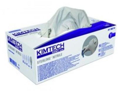 Slika za rukavice nitril bez pudera m 7-8 vel bijele pk/150