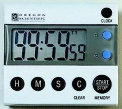 Slika za tajmer sa zvučnim alarmom digitalni dupli + baterije