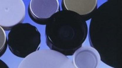 Slika za čep pp crni/brtva pvdc bijela r3/28 za bocu na navoj pk/100