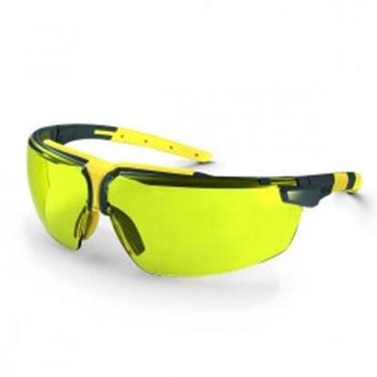 Slika za naočale zaštitne leće pc smeđe/okvir antracit-bež