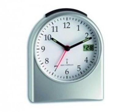Slika za sat s alarmom analogno (min, h)/digitalni (sek) + baterije