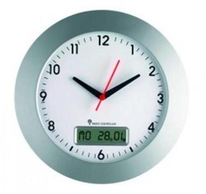 Slika za sat zidni/analogni s datumom/digitalni bežični + baterije