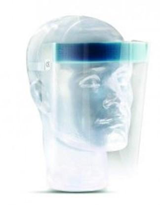 Slika za vizir zaštitni acetat prozirni elastična vezica pk/20