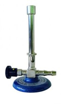 Slika za plamenik bunsen prirodni plin s iglastim ventilom i regulatorom zraka