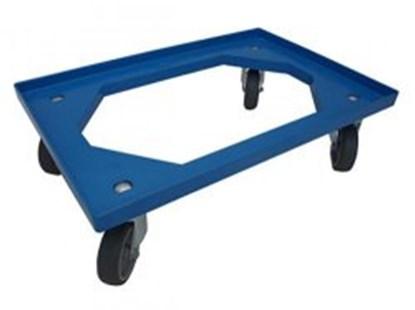 Slika za kolica pp plava 607x407x170mm nosivost 200kg