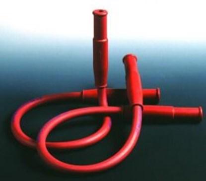 Slika za crijevo za plamenik dva ulaza 1 m, smeđe