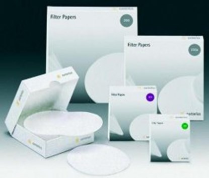 Slika za filter papir crna vrpca fi185mm brza filtracija pk/100