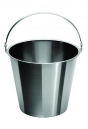 Slika za buckets,st.steel,graduated,with handle,c