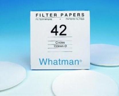 Slika za filter papir plava vrpca fi125mm vrlo spora filtracija pk/100