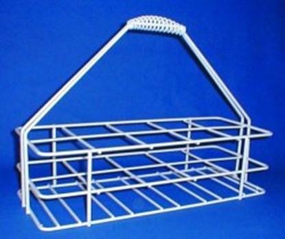 Slika za košara za prijenos četvrtastih boca 2x2 mjesta
