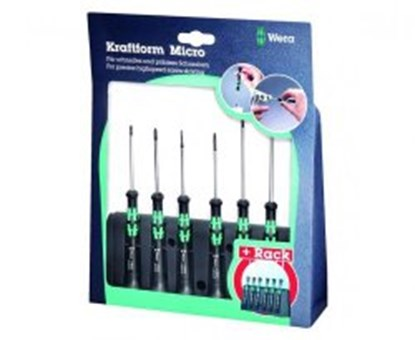 Slika za mini screwdriver set wera 2035/6b