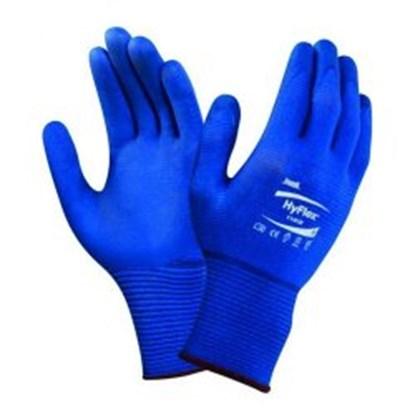 Slika za rukavice zaštitne nitril 7 vel plave 200-248mm hyflexr pk/12pari