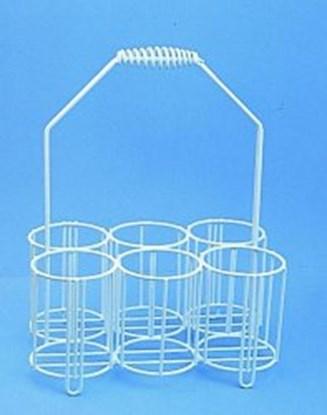 Slika za košarica pe-obložena za boce 4x1l