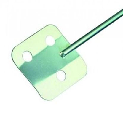 Slika za mješalo/lopatica  v2a, 400 mm, inox