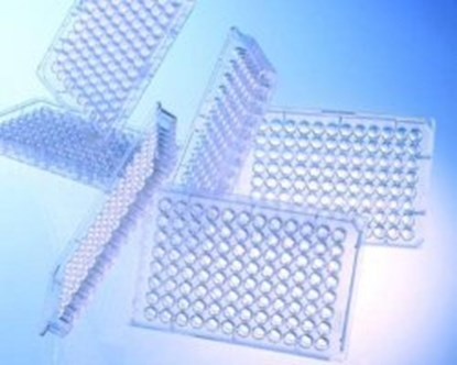 Slika za mikrotitar ploče ps 96 udubljenja u-dno nesterilne bistre kodirane pk/100