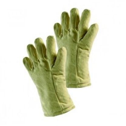 Slika za rukavice za toplinsku zaštitu do +500°c aramidno tkanje s izolacijom 400mm 1par