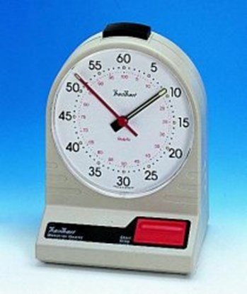 Slika za štoperica stolna analogna 0-60 sek/0-60 min + baterije