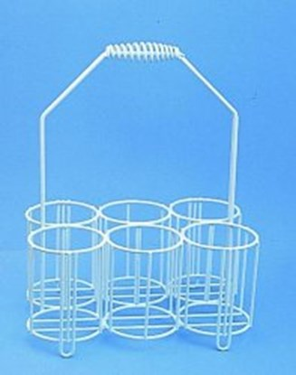 Slika za košarica pe-obložena za boce 10x1l