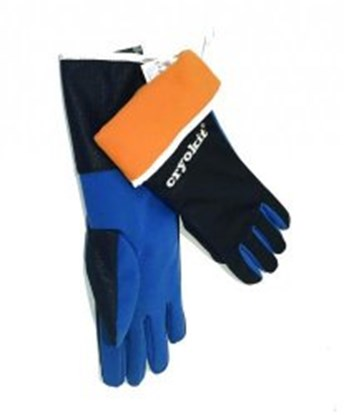 Slika za rukavice za krio zaštitu/tekući dušik 8 vel 400mm 1par