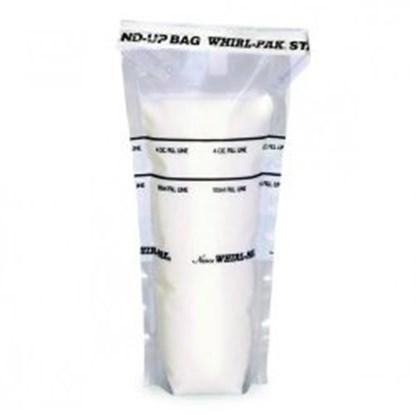 Slika za vreće pe whirl-pak 125x380mm 1065ml sterilne samostojeće mjesto za pisanj pk/250