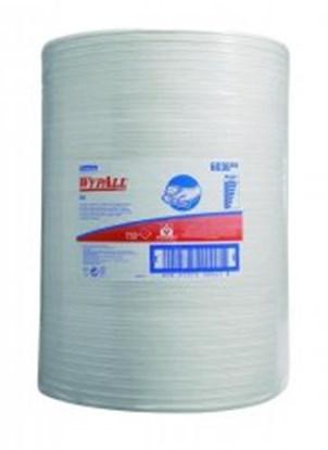 Slika za maramice 400x380mm hydroknit perforirane bijele u roli od 750kom