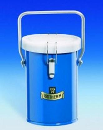 Slika za Dewar carrying flasks, cylindrical, for CO<SUB>2</SUB> and LN<SUB>2</SUB>