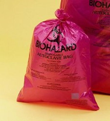 Slika za vreće pp otpad 360x480mm biohazard crvene ekstra jake pk/200