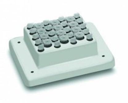 Slika za blok za termošejker tip psc24n za mikroepruvete 1,5ml 24 mjesta