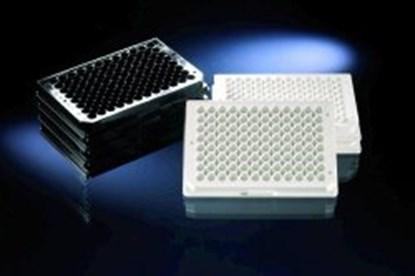 Slika za mikrotitar ploče ps 96 udubljenja ravno dno nesterilne crne pk/180