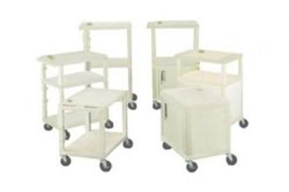 Slika za kolica laboratorijska s 3 police wt34