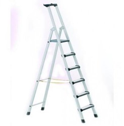 Slika za stepladder, 6 steps, safety platform