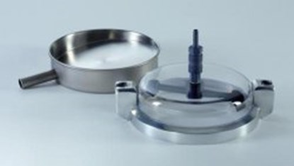 Slika za srednji prsten sa tri otvora za sita fi 200mm