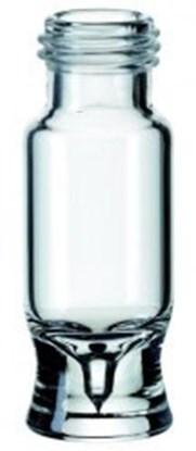 Slika za viali na navoj staklo bijeli nd9 0,9ml ravno dno 1ul lijevak pk/1000