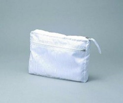 Slika za aspure clean bag with handle, white, pol